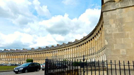 The Royal Crescent (Nikon S9700)