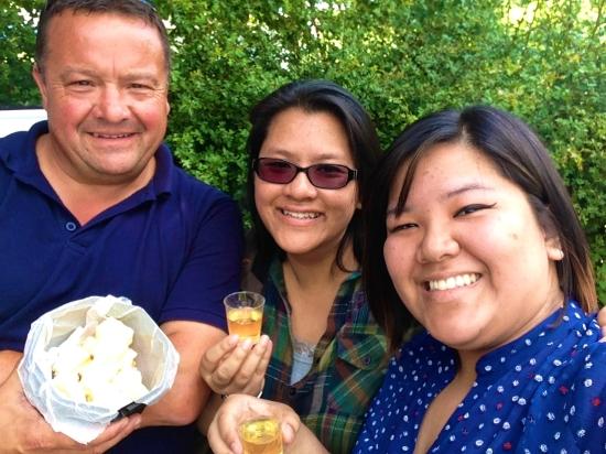 Cheese & Cider Selfie! (iPhone 5)