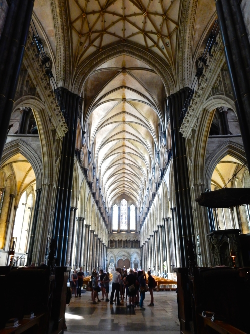 Looking back towards the Nave and the West door from the Quire. (Nikon S9700)