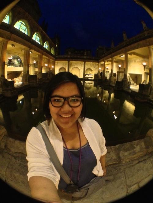 Roman Baths Selfie!