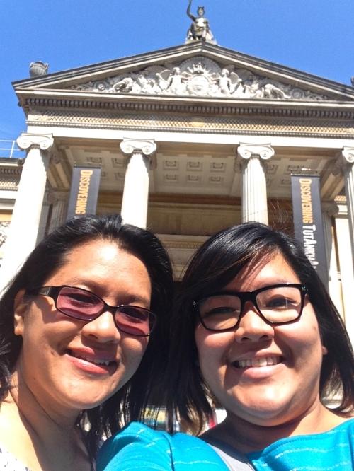 Ashmolean selfie! (iPhone 5)
