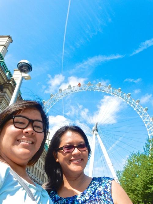 London Eye selfie! (Nikon S9700)