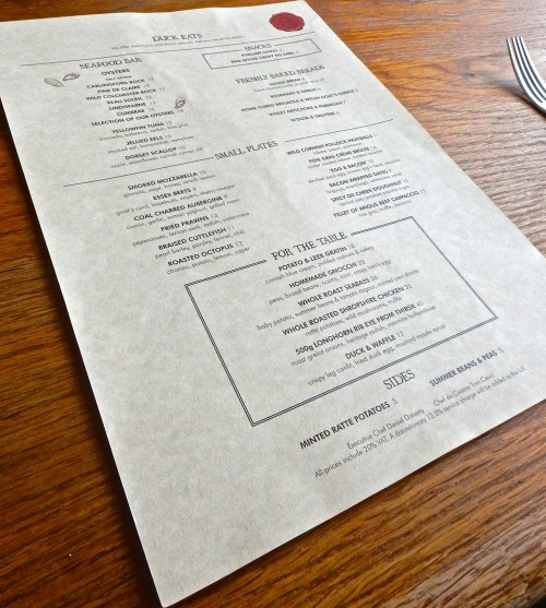 The menu. (Nikon S9700)