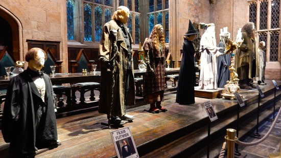 Some professors' costumes - Flitwick, Moody, Trelawney, McGonagall, Dumbledore, Snape, Hagrid, and... well... Filch.