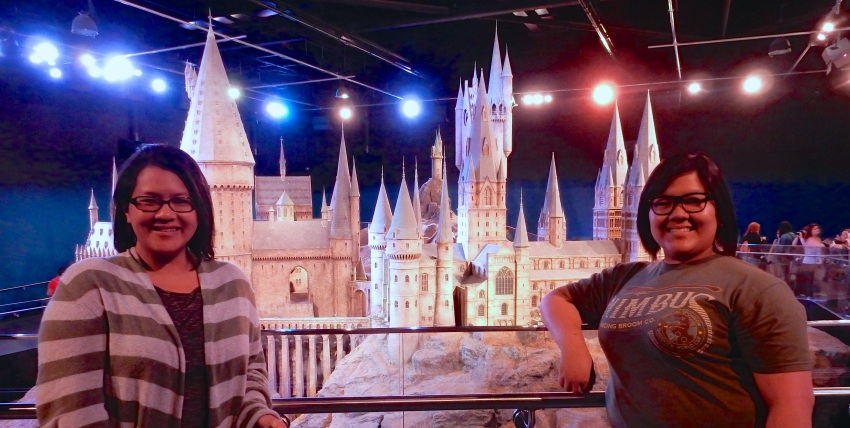 The gorgeous scale model of Hogwarts, used for aerials and the like. (Nikon S9700)