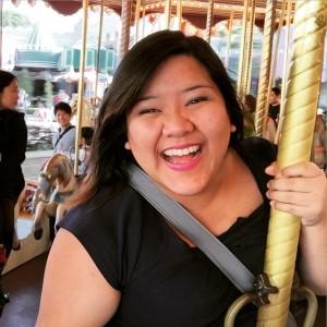 The Carousel at Hong Kong Disneyland, December 2014.