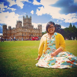 Highclere Castle, UK, August 2015