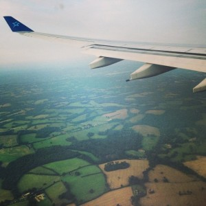 Wing over England, July 2014.