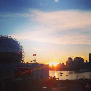 Vancouver Autumn Sunset, October 2014.