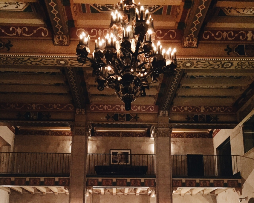 I want to swing on the chandelier.
