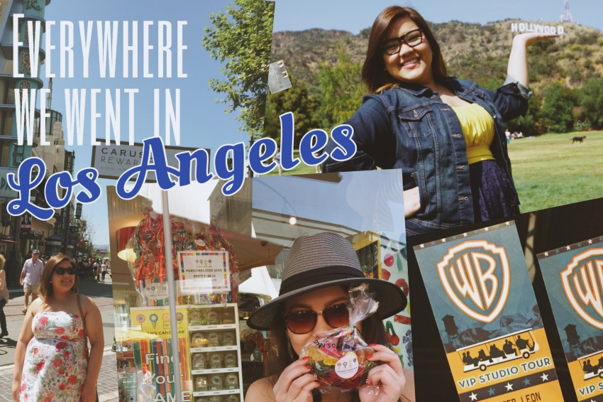 Everywhere we went in LA